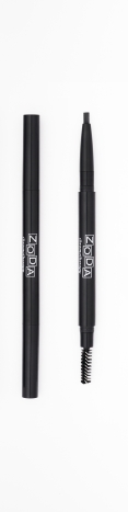 ZODA AUTO EYEBROW & EYELINER PENCIL NO.01 Black